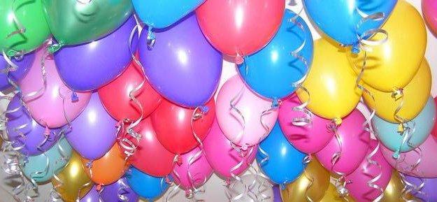 Гелиевые шарики. Фото 4. Железнодорожный.
