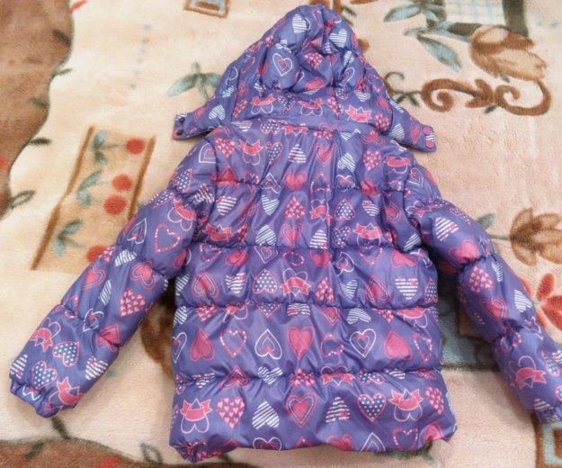 Утепленная куртка для девочки. Фото 1. Москва.