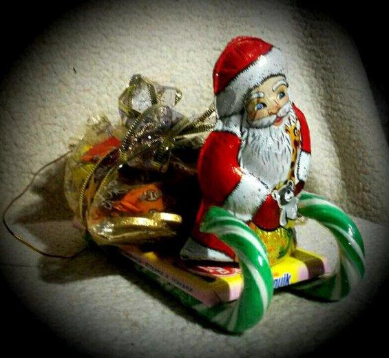 """Подарок """"сладкие сани"""". Фото 1. Челябинск."""