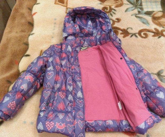 Утепленная куртка для девочки. Фото 3. Москва.