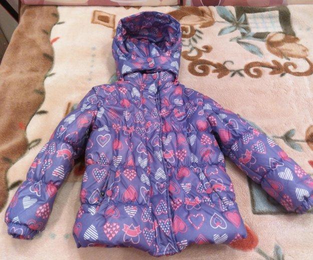 Утепленная куртка для девочки. Фото 4. Москва.