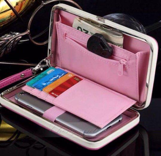 Магнитный кошелёк-чехол для телефона. Фото 1. Москва.