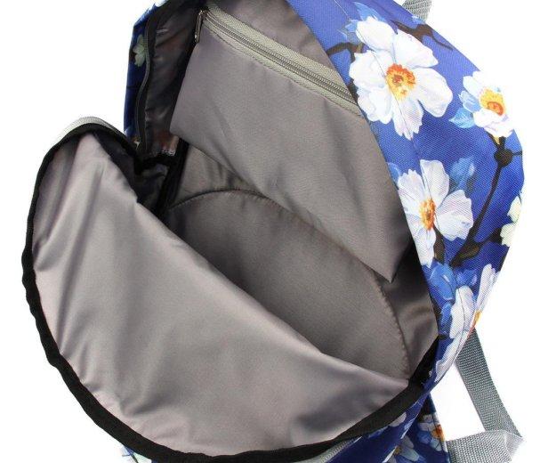 Рюкзак с цветами ромашки. Фото 2. Москва.