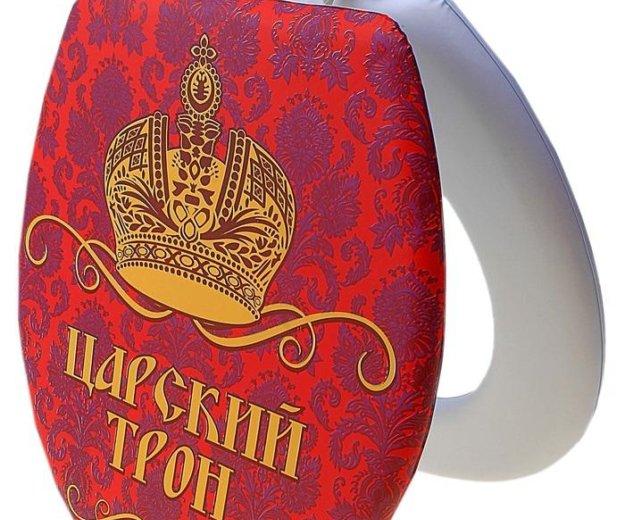 """Сидушка на унитаз """"царский трон"""". Фото 1. Химки."""
