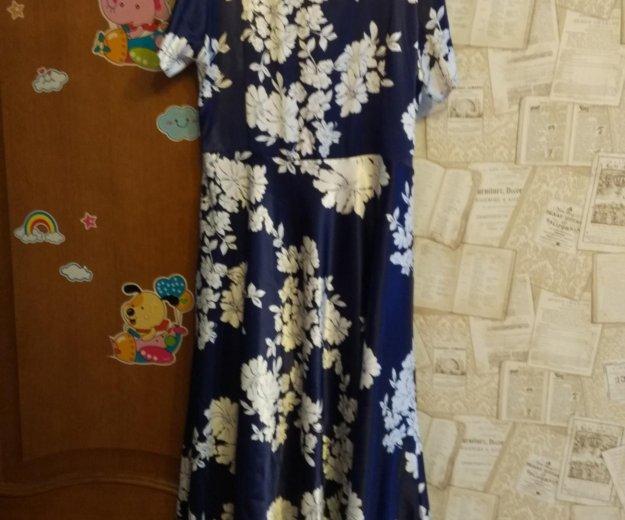 Платье атласное длинное 50.52. Фото 3. Санкт-Петербург.