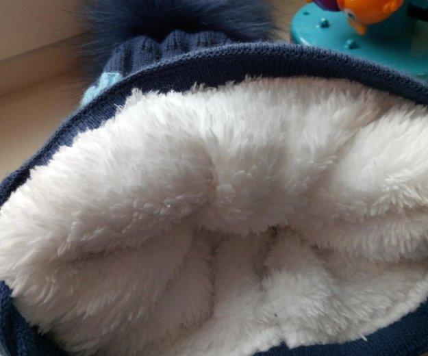 Новая зимняя шапка 3-5л. Фото 3. Новосибирск.