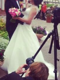 Красивое свадебное платье. Фото 1. Уфа.