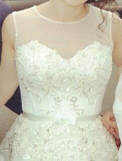 Красивое свадебное платье. Фото 2. Уфа.