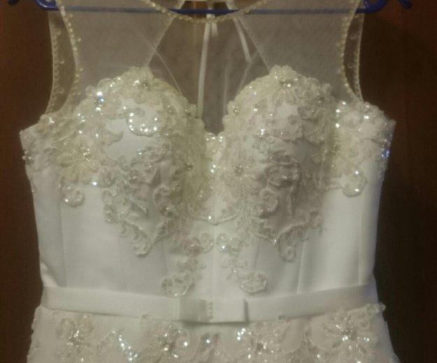 Красивое свадебное платье. Фото 4. Уфа.