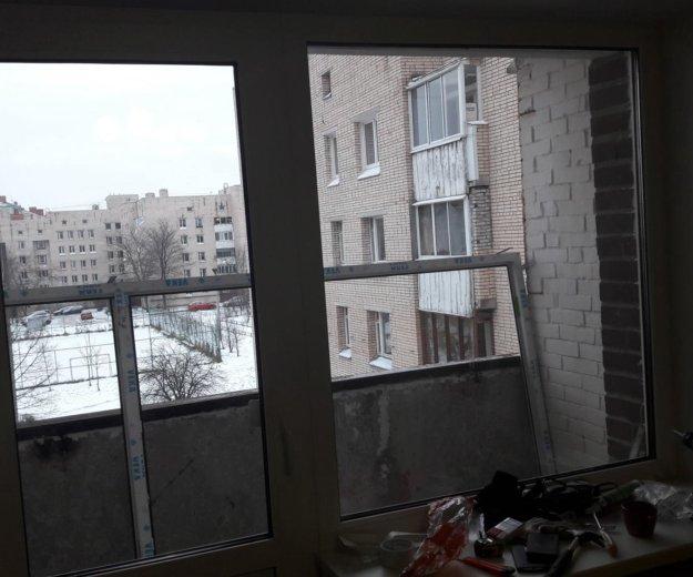 Балконный блок. Фото 1.