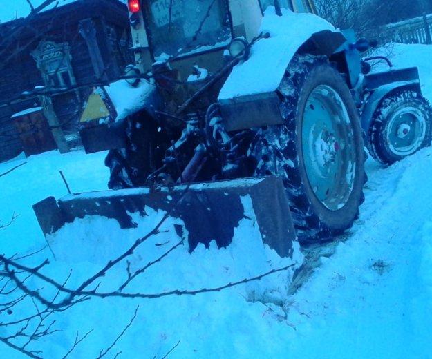 Расчистка снега, вывоз мусора. Фото 1. Кострома.