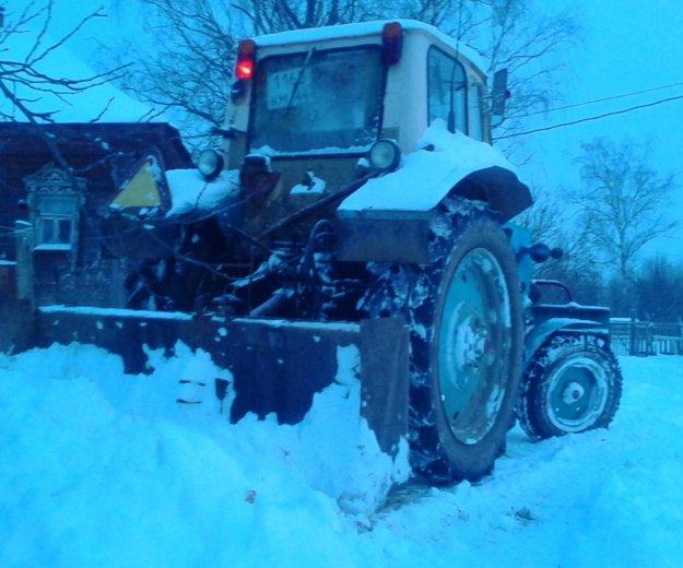 Расчистка снега, вывоз мусора. Фото 2. Кострома.