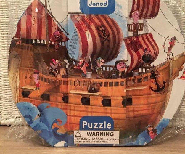 Пазл пиратский корабль janod battat жанод. Фото 1. Москва.