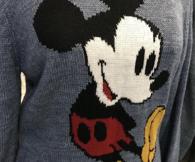 Тёплый новый свитер с микки турция. Фото 2. Пермь.