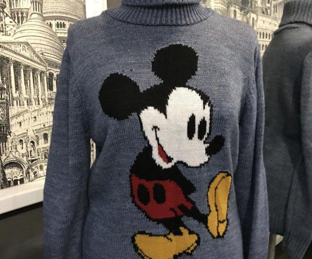 Тёплый новый свитер с микки турция. Фото 1. Пермь.