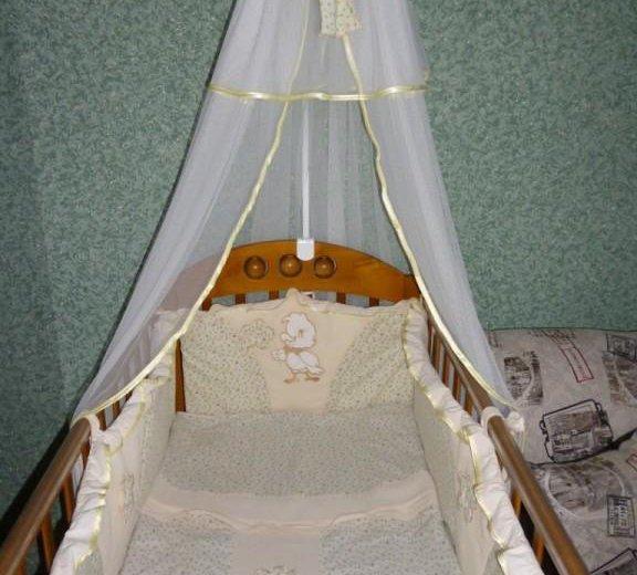 Детская кроватка. Фото 2. Сибирский.