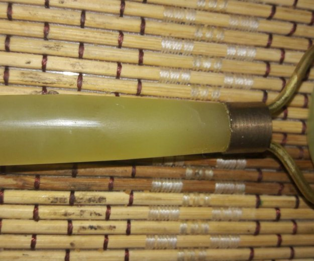 Нефритовый массажор камень натуральный. Фото 2. Домодедово.