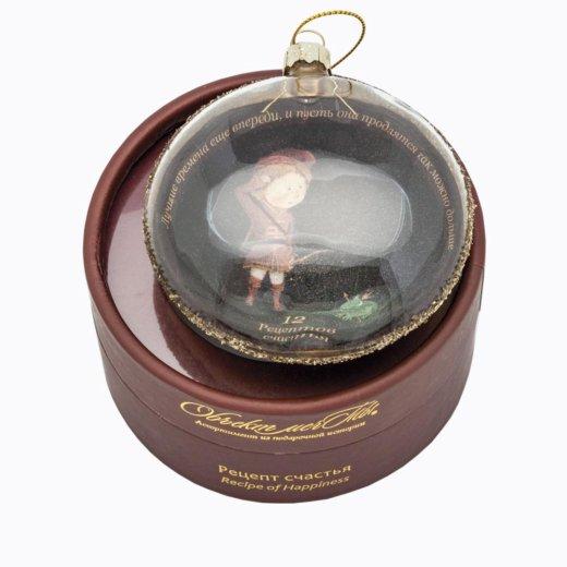Новогодний шар для праздничной ёлки стрелец. Фото 2. Москва.