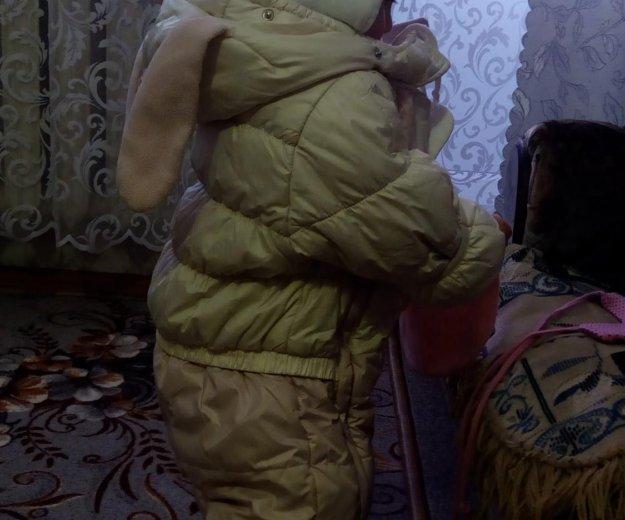 Зимний комбинезон и шапочка. Фото 3. Киров.