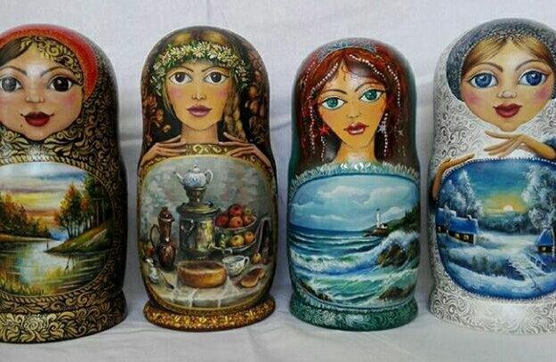 Матрешки. Фото 1. Ставрополь.
