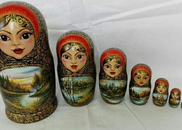 Матрешки. Фото 2. Ставрополь.