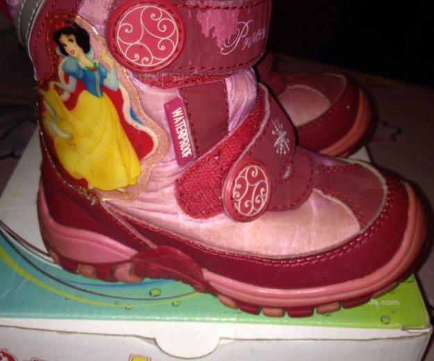Ботинки на девочку. Фото 2. Щёлково.