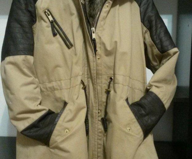 Зимняя куртка (парка). Фото 1. Санкт-Петербург.