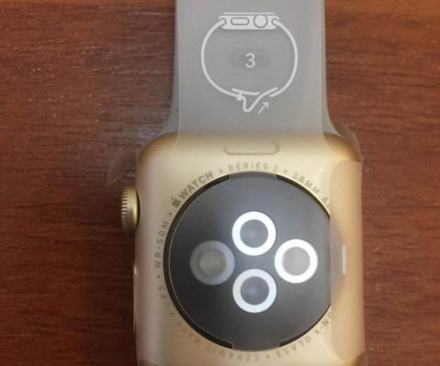 Часы apple watch 2 38mm gold. Фото 2. Москва.
