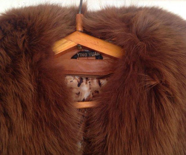 Пальто с меховым воротником. Фото 1.