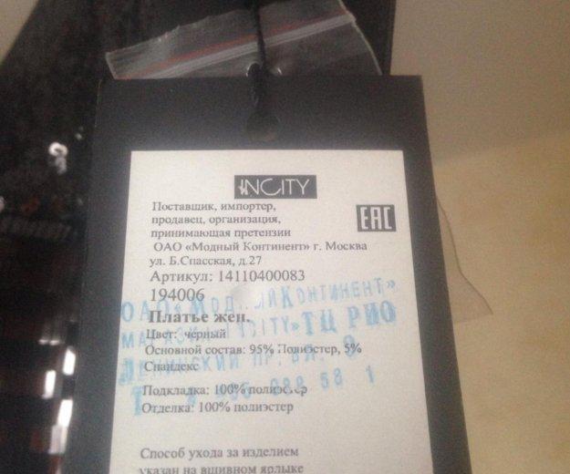 Чёрное новое платье. Фото 2. Москва.