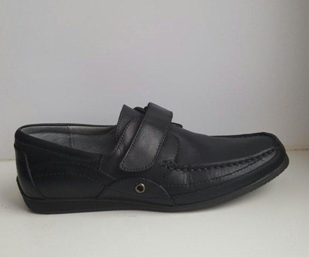 Туфли школьные для мальчика (кожа). Фото 1. Ржавки.