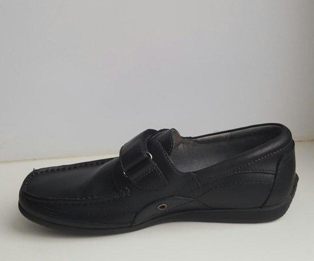 Туфли школьные для мальчика (кожа). Фото 2. Ржавки.
