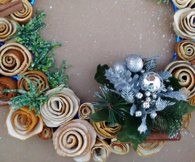 Ароматный рождественский венок. Фото 3. Волгоград.