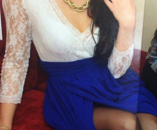 Вечернее платье в пол  гипюр+шифон. Фото 2. Набережные Челны.