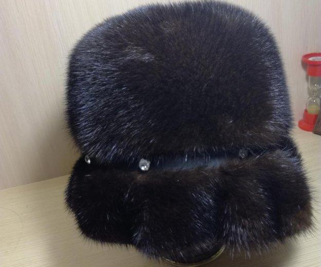 Норковая шапка. Фото 2. Хабаровск.