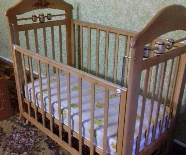 Кровать-маятник с матрасиком. Фото 1. Оренбург.