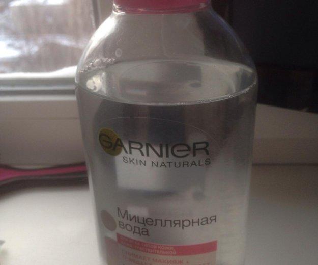 Мицеллярная вода для снятия макияжа. Фото 1. Королев.