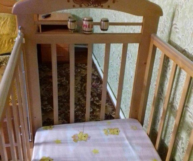 Кровать-маятник с матрасиком. Фото 3. Оренбург.