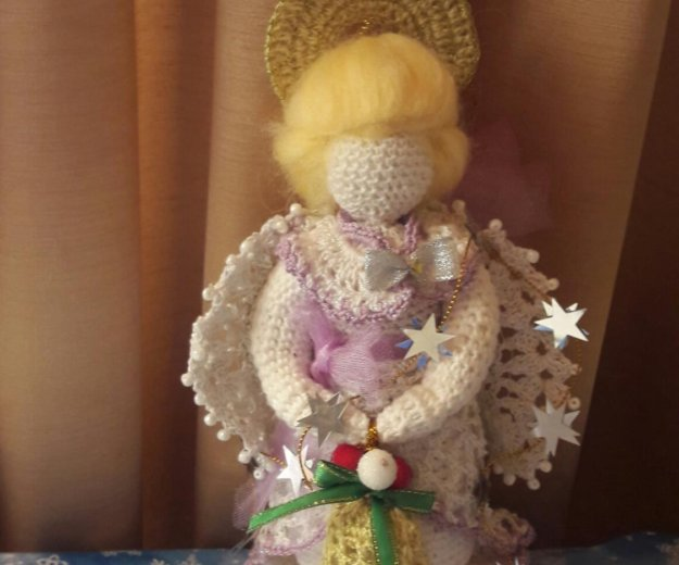 Рождественский ангел. Фото 1. Москва.
