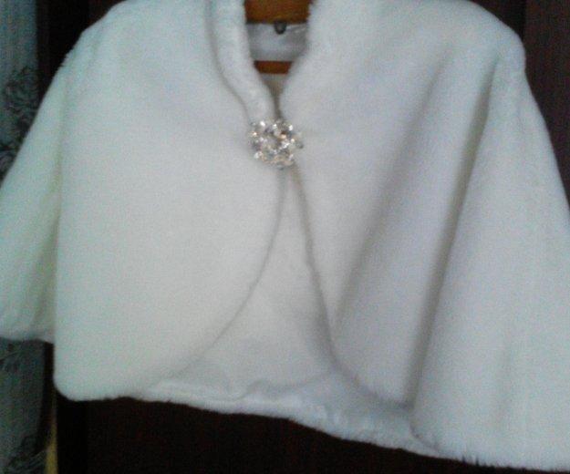 Свадебная меховая накидка. Фото 2. Саратов.