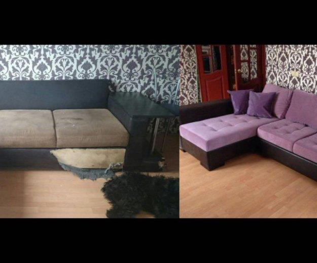 Перетяжка мягкой мебели. Фото 4. Северодвинск.