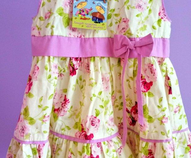Новое платье 92 р. Фото 1. Железнодорожный.