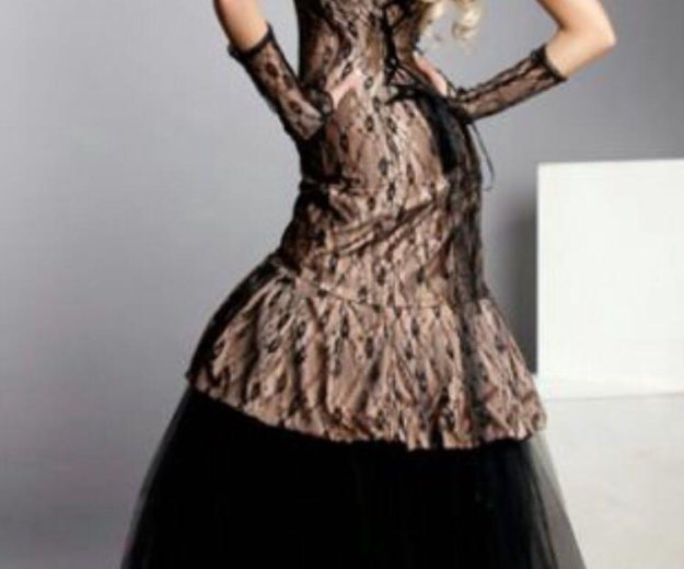 Платье со стразами swarovski. Фото 2. Санкт-Петербург.