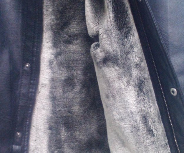 Куртка коженная. Фото 3. Красноярск.
