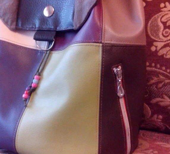 Рюкзак новый. ручная работа!. Фото 3. Новокузнецк.