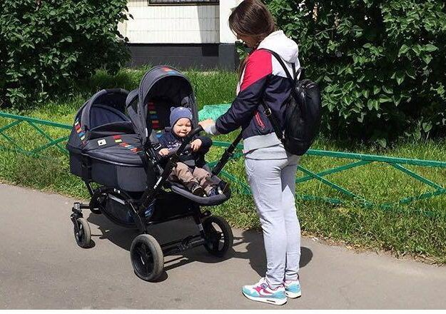 Коляска для двойни / погодок fd design zoom. Фото 1. Москва.