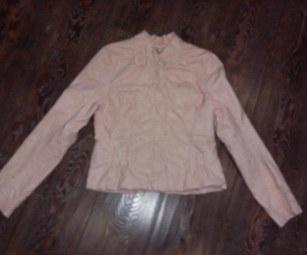 Куртка нежно-розовая на осень -весну. Фото 2. Санкт-Петербург.