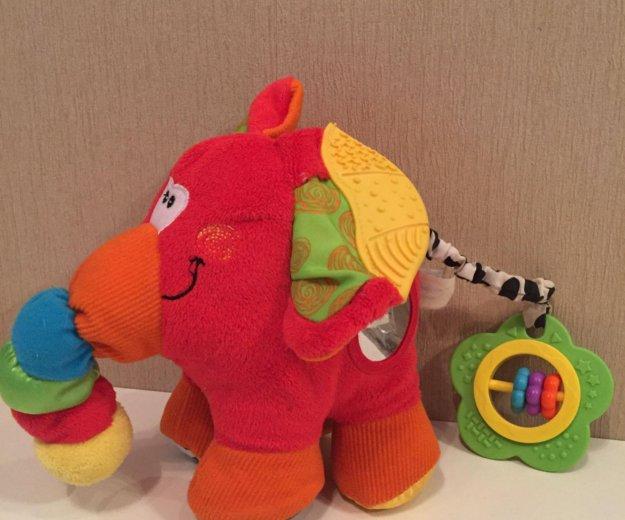 Слон игрушка развивающая. Фото 1. Володарского.