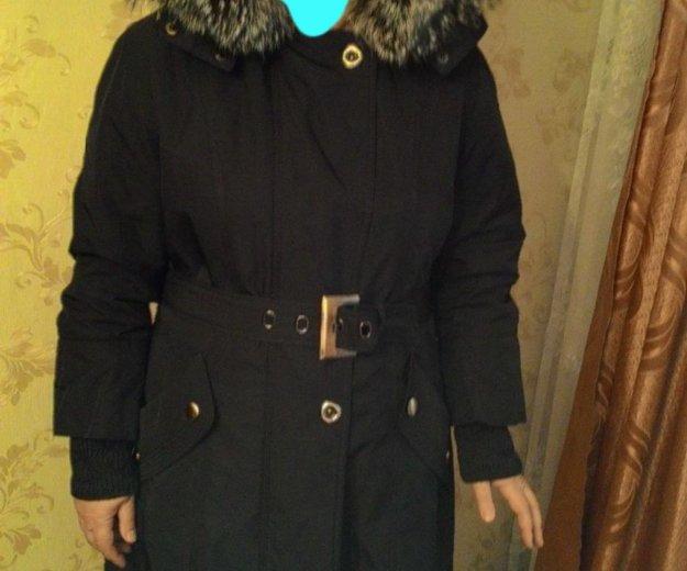 Пальто с чернобуркой. Фото 1. Москва.