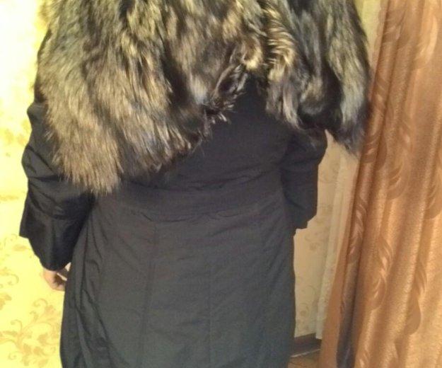 Пальто с чернобуркой. Фото 2. Москва.